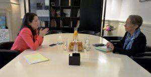 Rencontre Johanna Rolland - Ministre des Transports